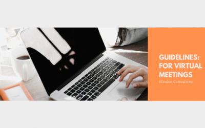 Guidelines for Virtual Meetings